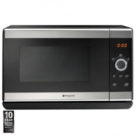 Hotpoint - MWH2321X - Microwave Oven in Inox Steel Finish, 23 Ltrs 800W